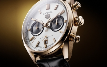 TAG Heuer Carrera Calibre 02 Jack Heuer Birthday Gold L.E.