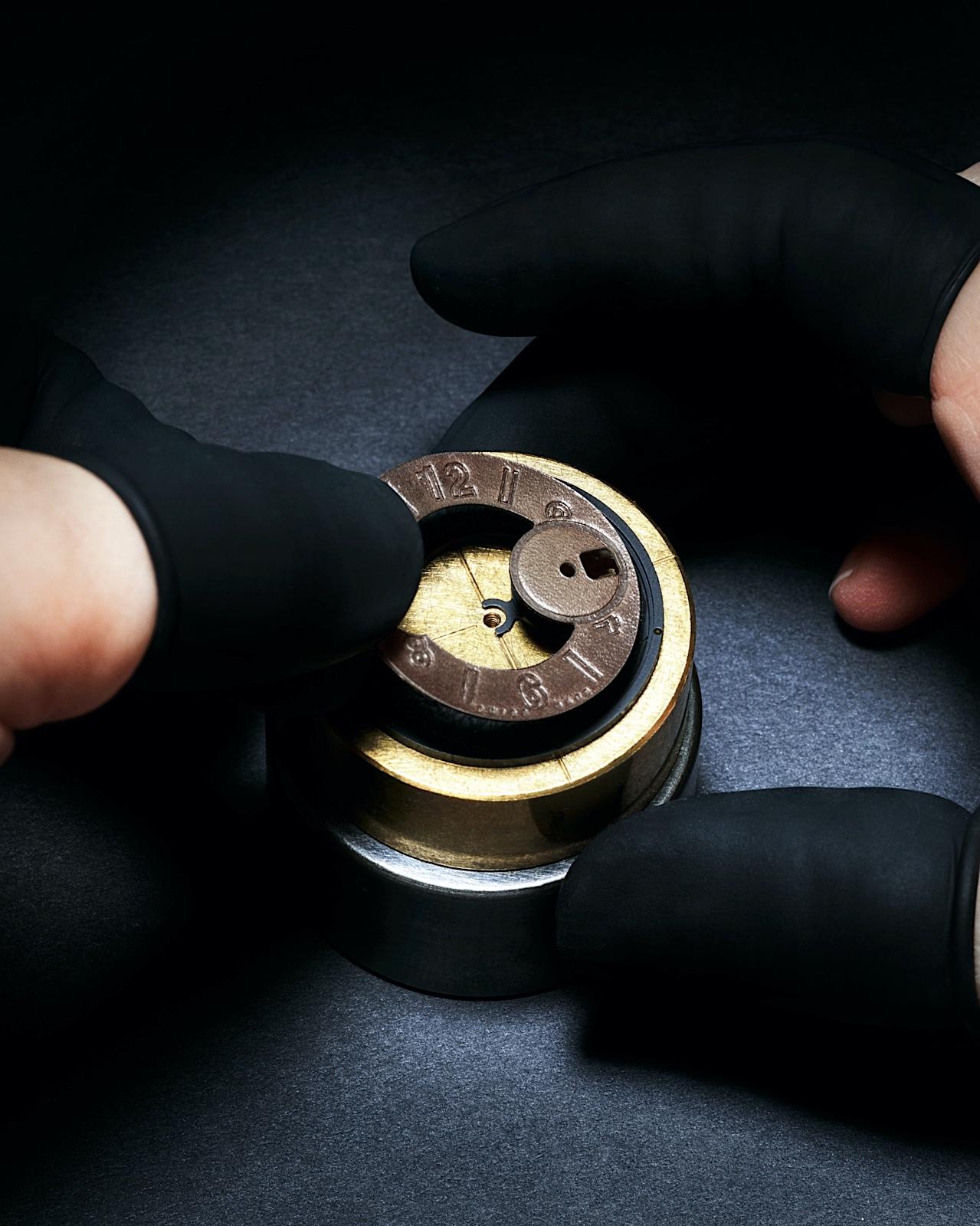 Hublot Big Bang Unico Berluti Cold Brown - dial in Berluti leather