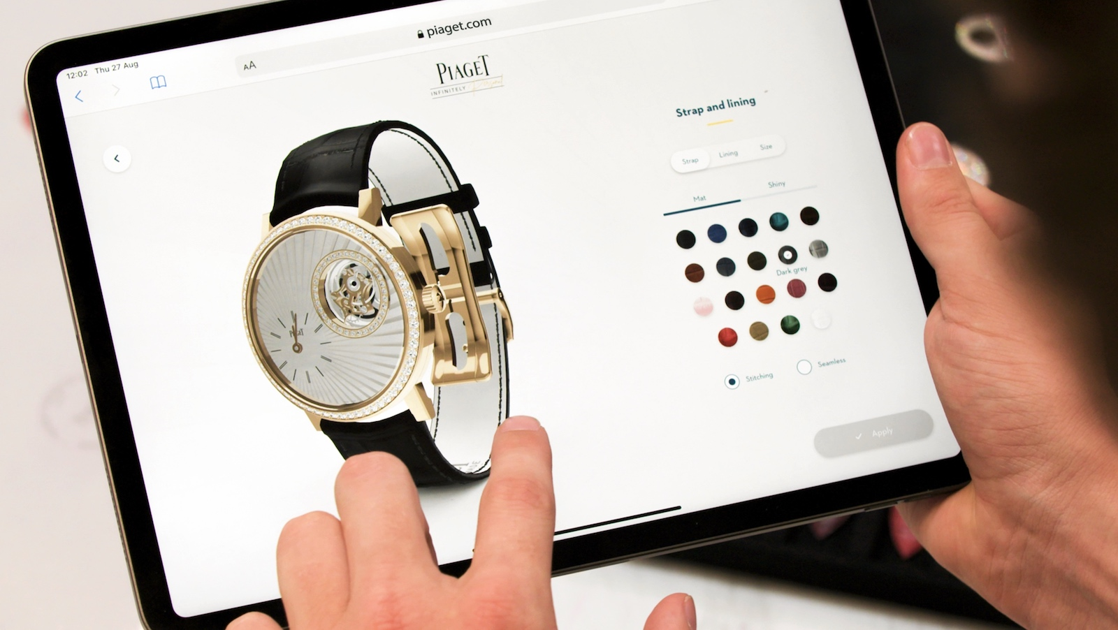 Piaget Infinitely Personal - tablet