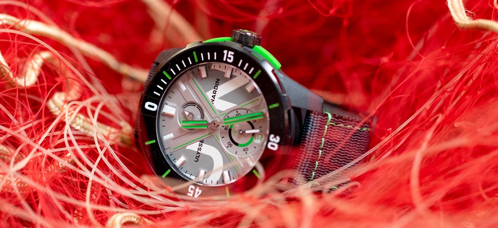 Ulysse Nardin Diver Net. El reloj que recicla los oceanos