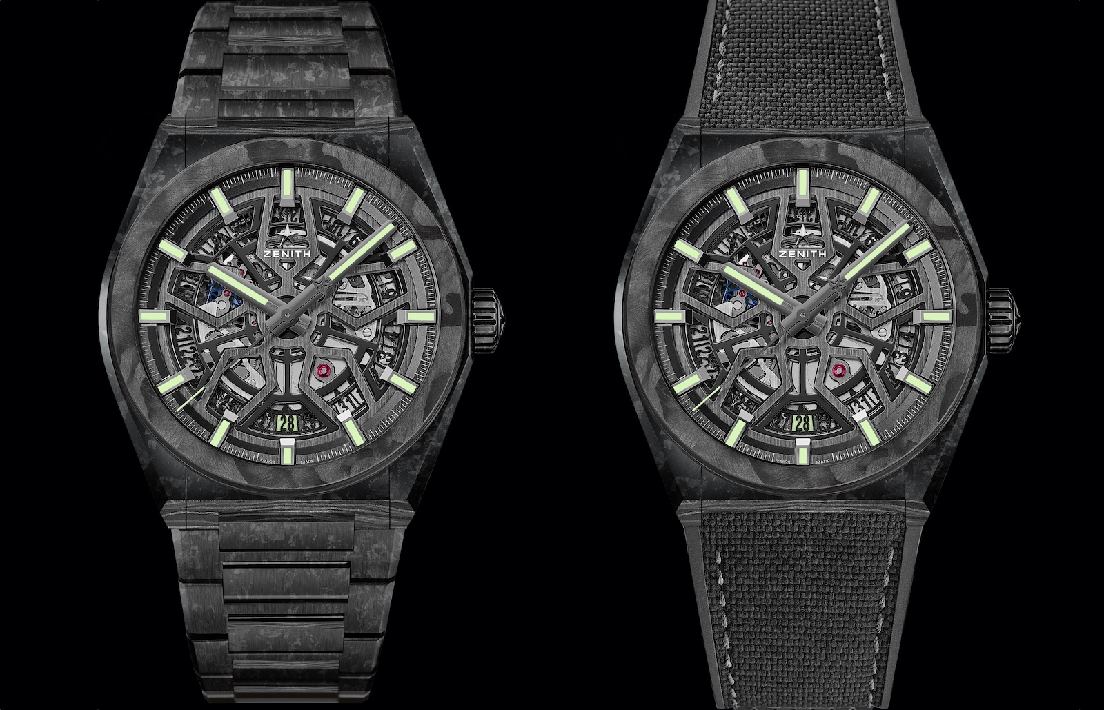 Zenith Defy Classic Carbon - duo