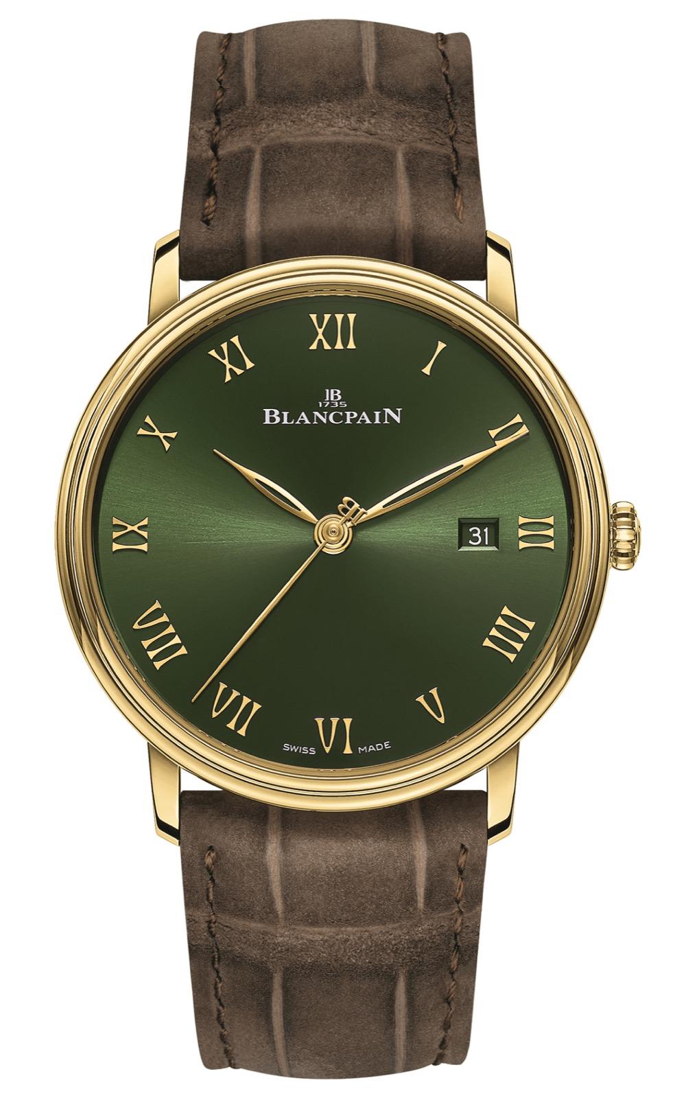 Blancpain Villeret Extraplate edición Boutique