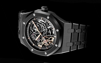 Audemars Piguet Royal Oak Double Balance Wheel Black Ceramic