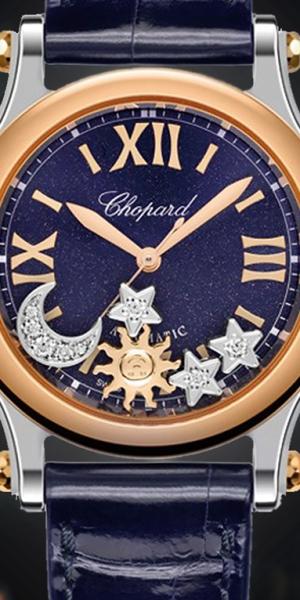 Chopard Happy Sport Sun, Moon & Stars