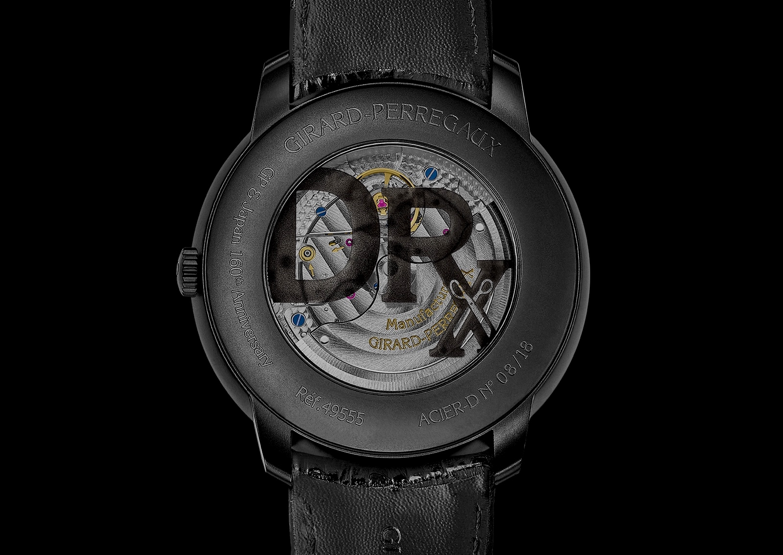 Girard-Perregaux 1966 East to West - caseback