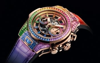 Hublot Big Bang Unico High Jewelry Rainbow - cover