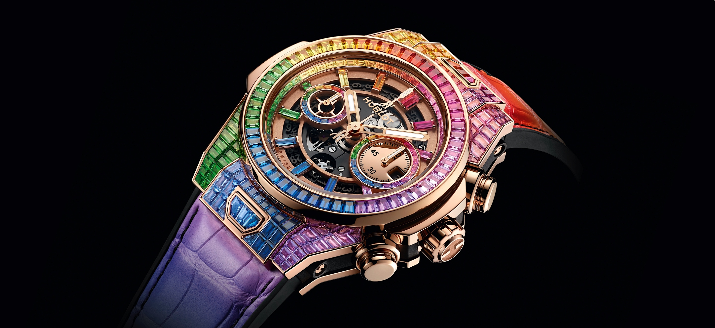 Hublot Big Bang Unico High Jewelry Rainbow - cover