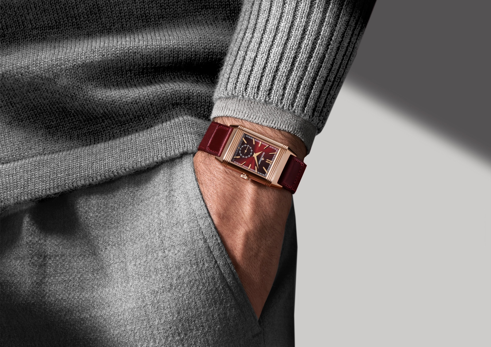 Jaeger-LeCoultre Reverso Tribute Duoface Fagliano - lifestyle