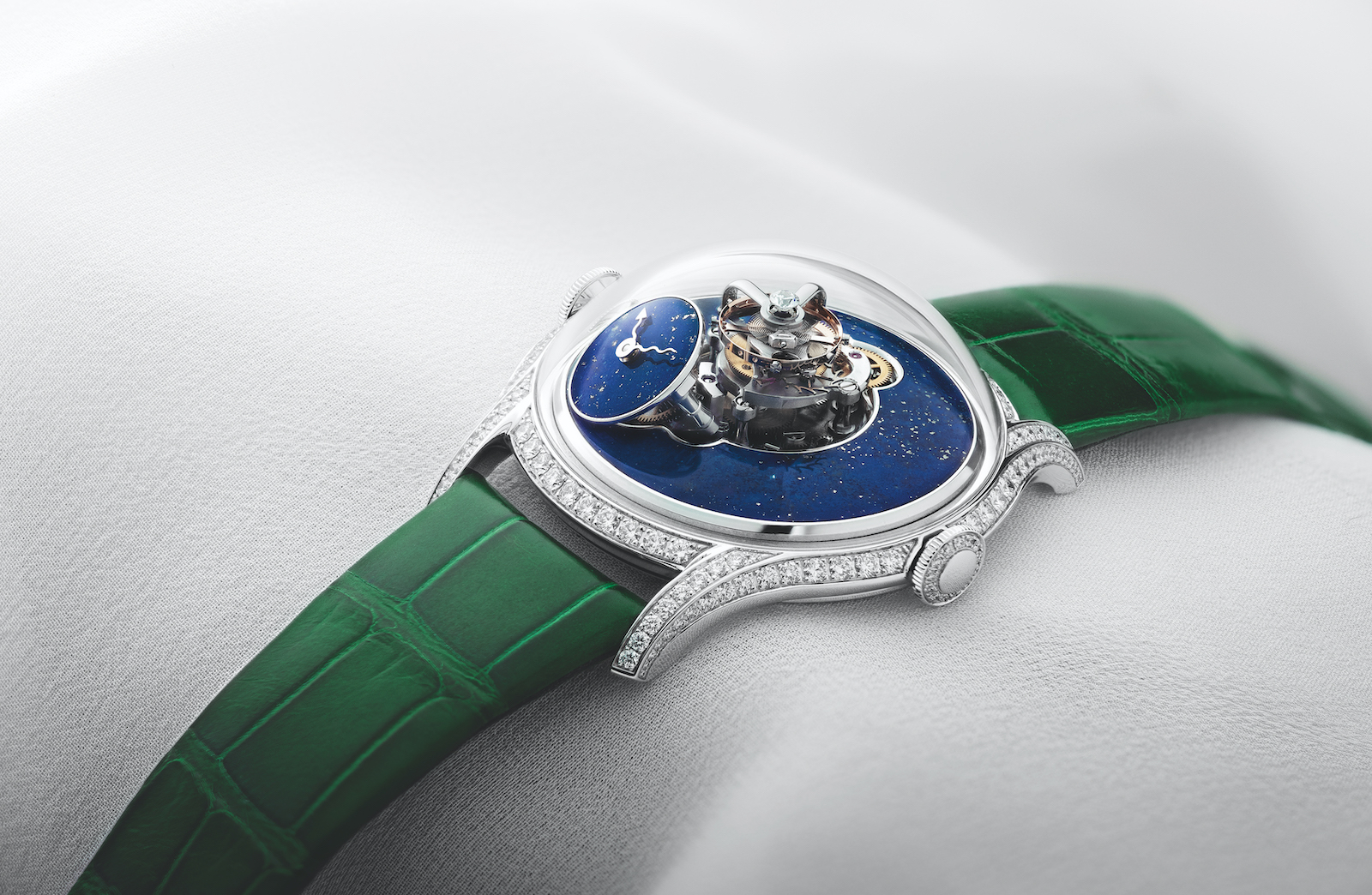 MB & F Legacy Machine FlyingT Lapis Lazuli - art