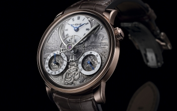MB&F x Eddy Jaquet Legacy Machine Split Escapement Jules Verne