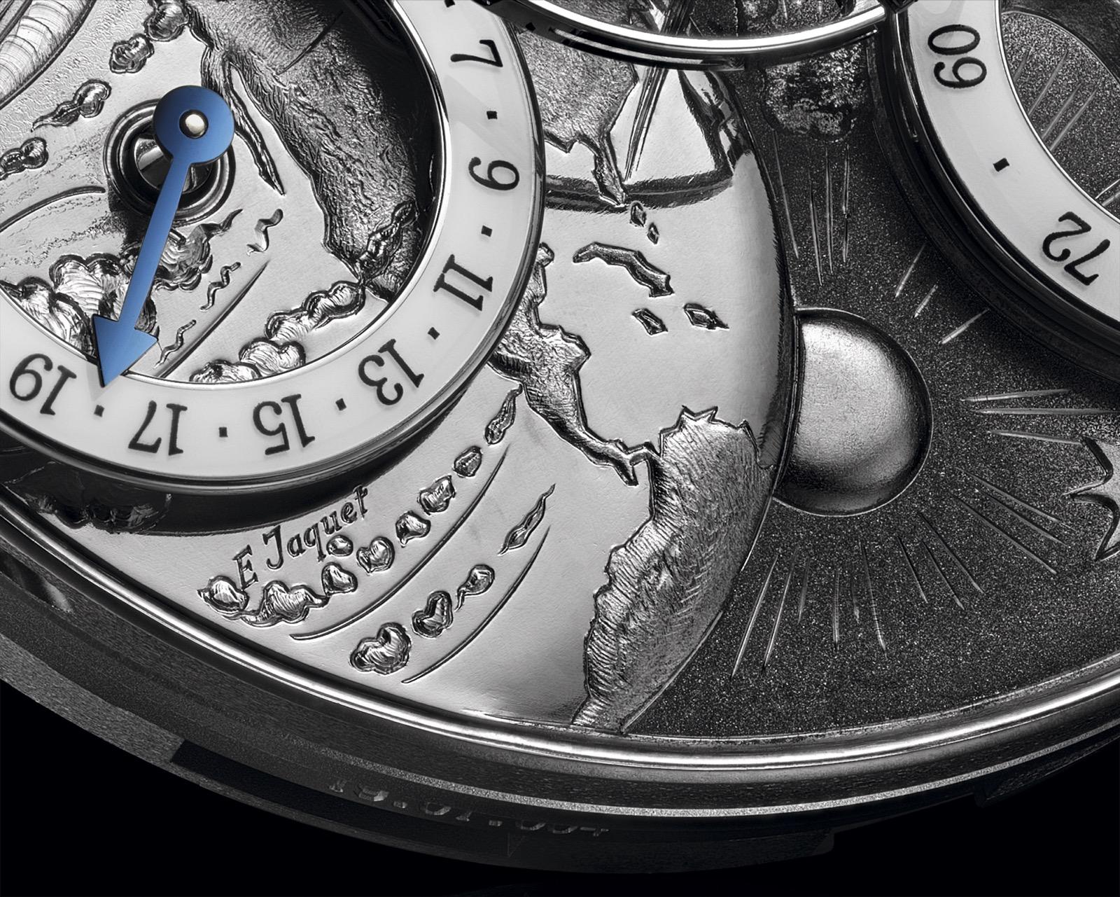 MB&F x Eddy Jaquet Legacy Machine Split Escapement Jules Verne