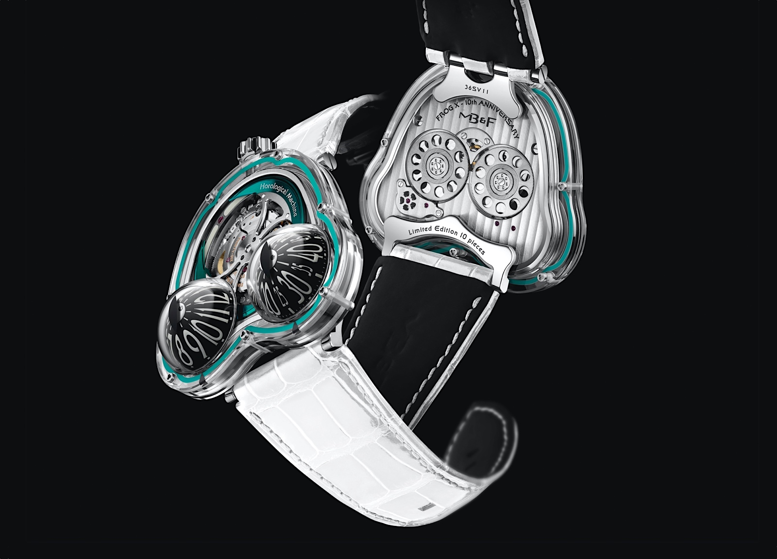 MB&F HM3 FrogX - front-back