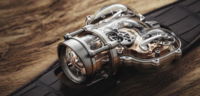MB&F Horological Machine Nº9 «Sapphire Vision»