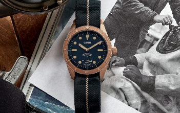 Oris Carl Brashear Calibre 401 Limited Edition-