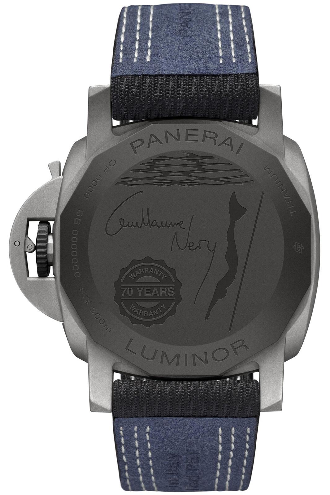 Panerai Luminor Marina 44mm Guillaume Néry Edition