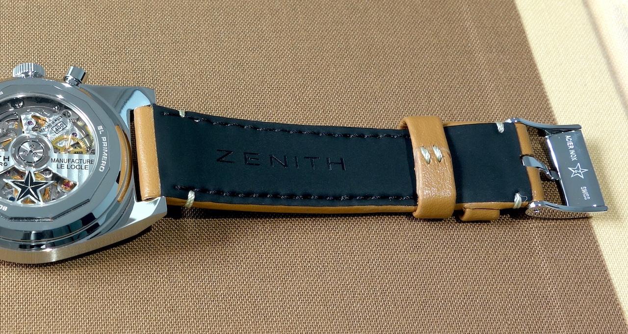 Zenith Chronomaster Revival El Primero A385 - caucho