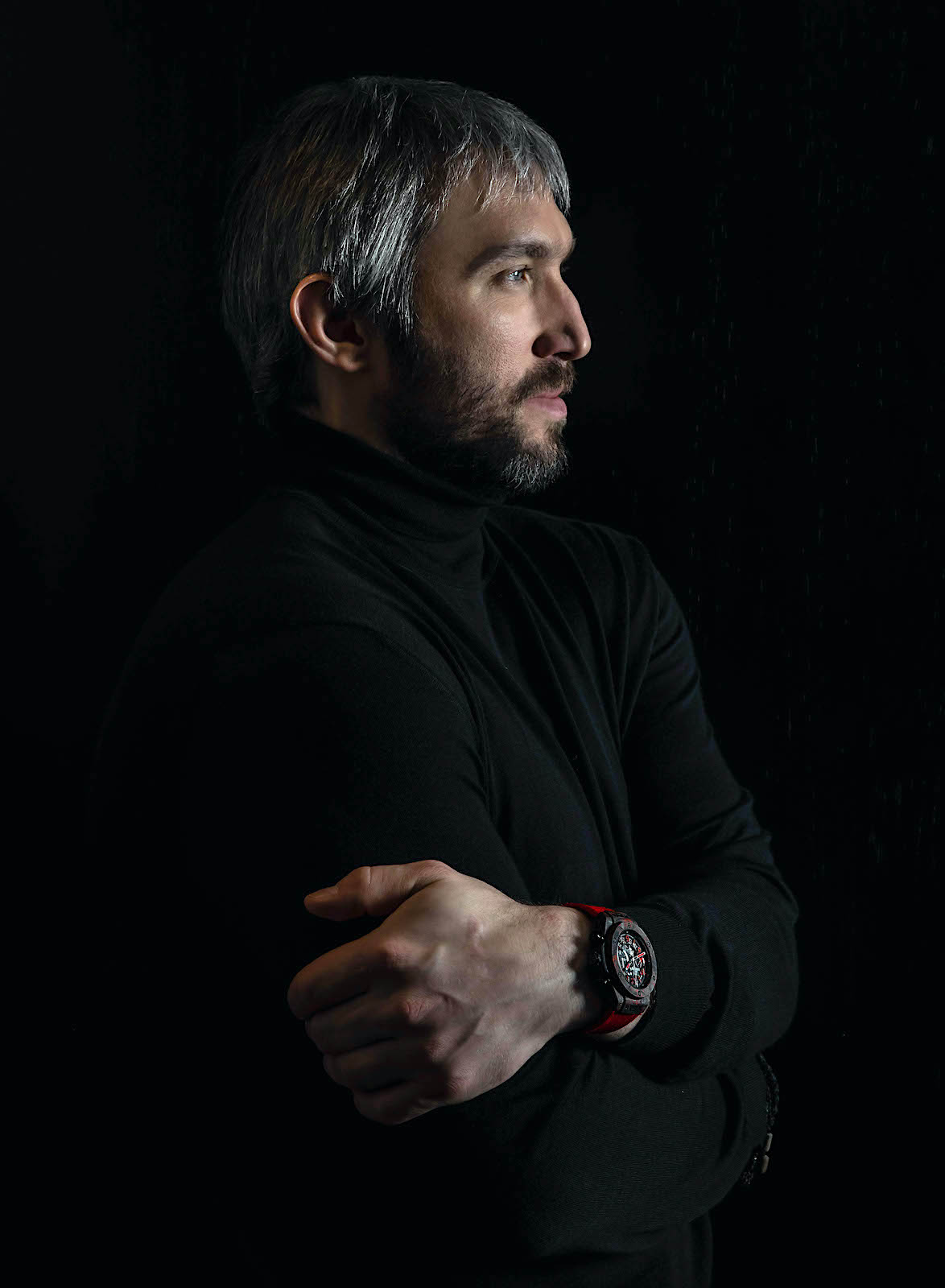 Hublot Big Bang Unico Red Carbon Alex Ovechkin - portrait
