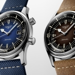 Longines Legend Diver, versiones en azul y marrón