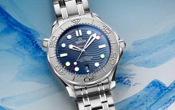 Omega Seamaster Diver 300MBeijing 2022 - cover