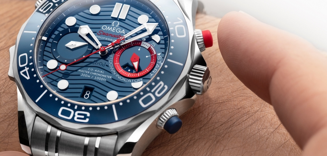Omega Seamaster Diver 300M Chronograph Americas Cup - Chrono Lock 02