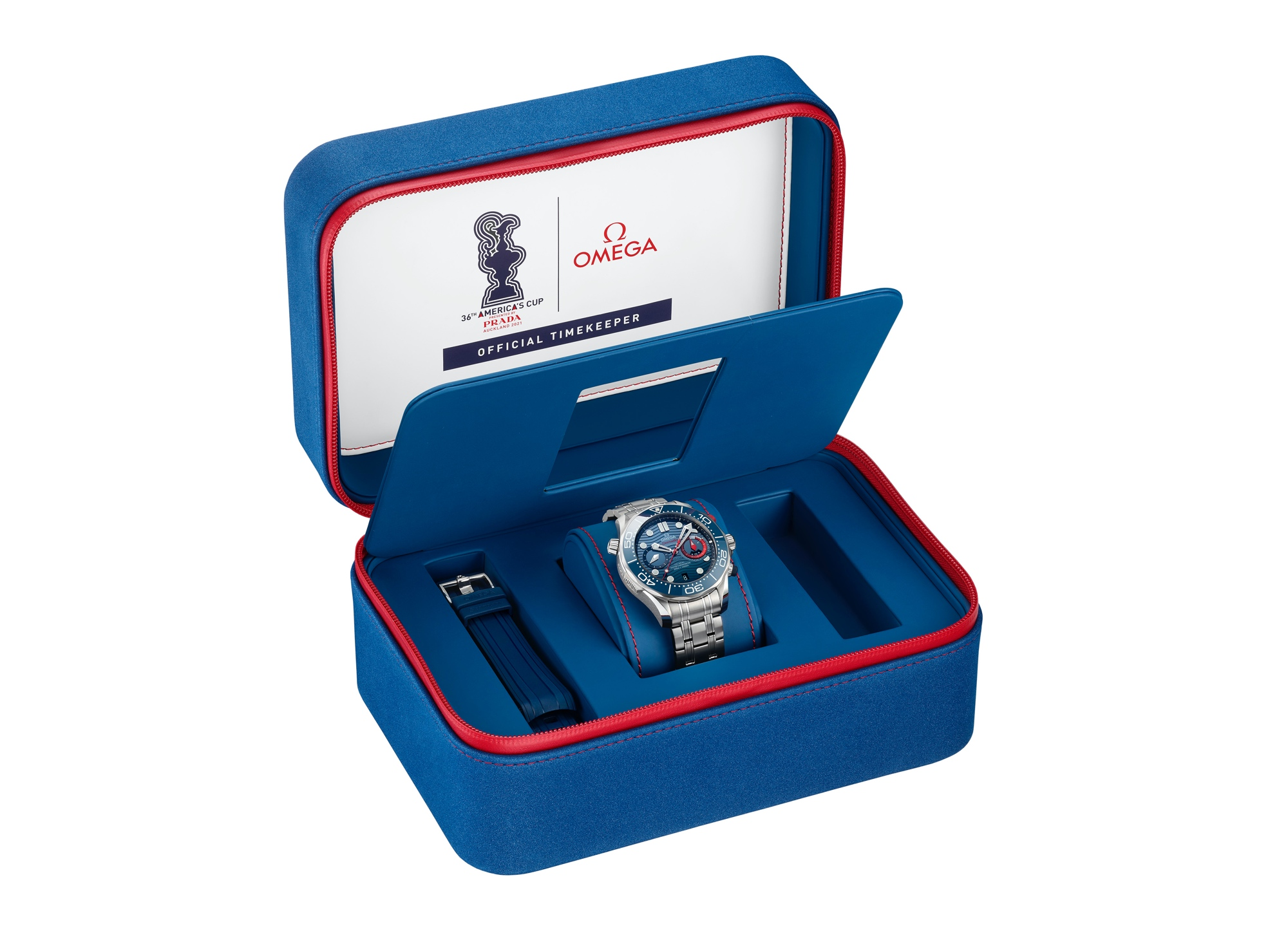 Omega Seamaster Diver 300M Chronograph Americas Cup - box