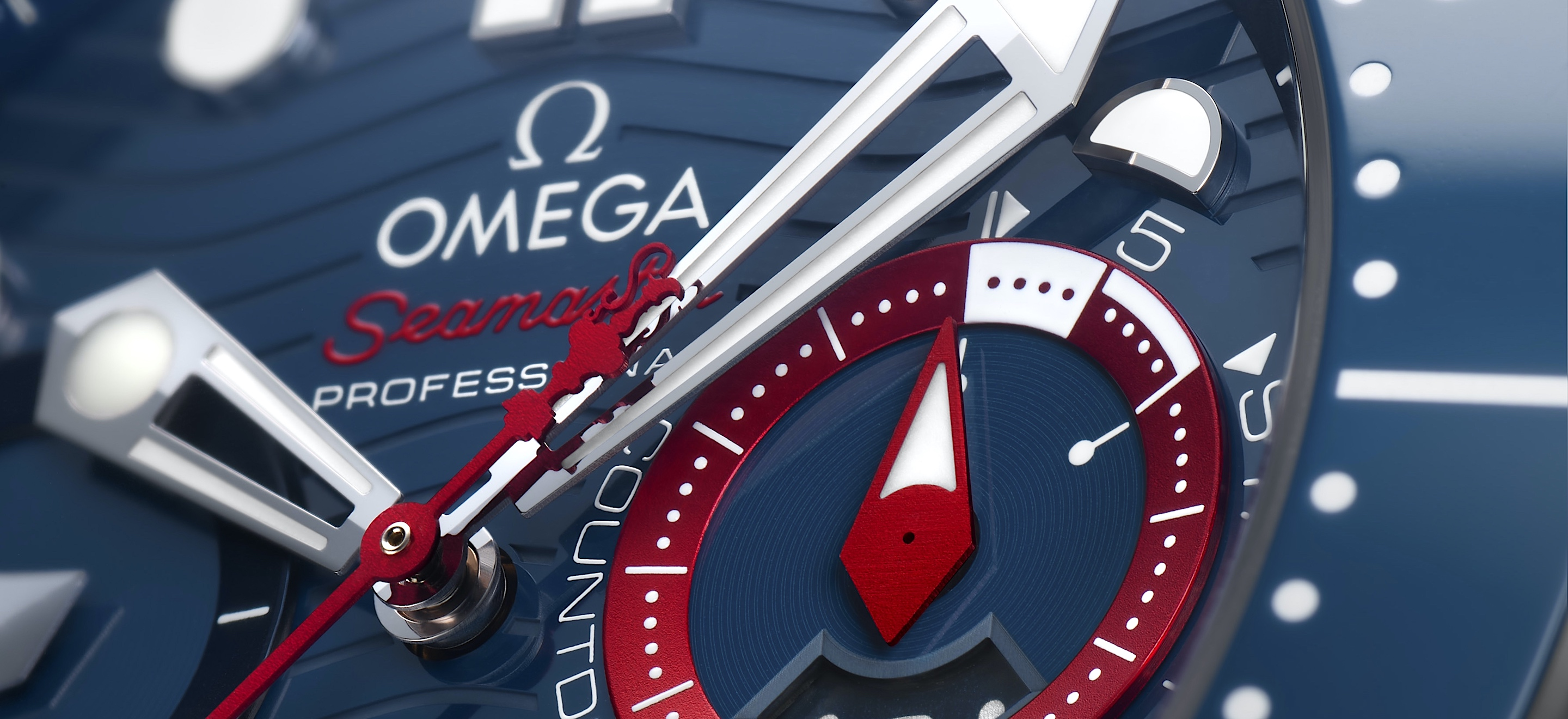 Omega Seamaster Diver 300M Chronograph Americas Cup - cover