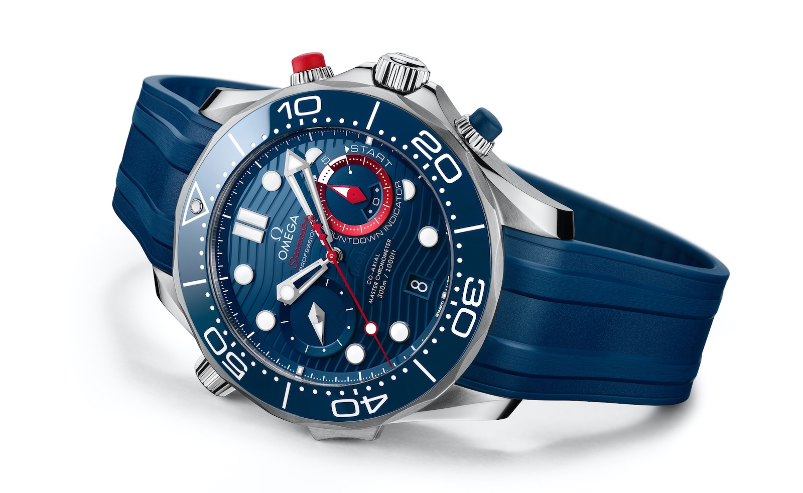 Omega Seamaster Diver 300M Chronograph Americas Cup