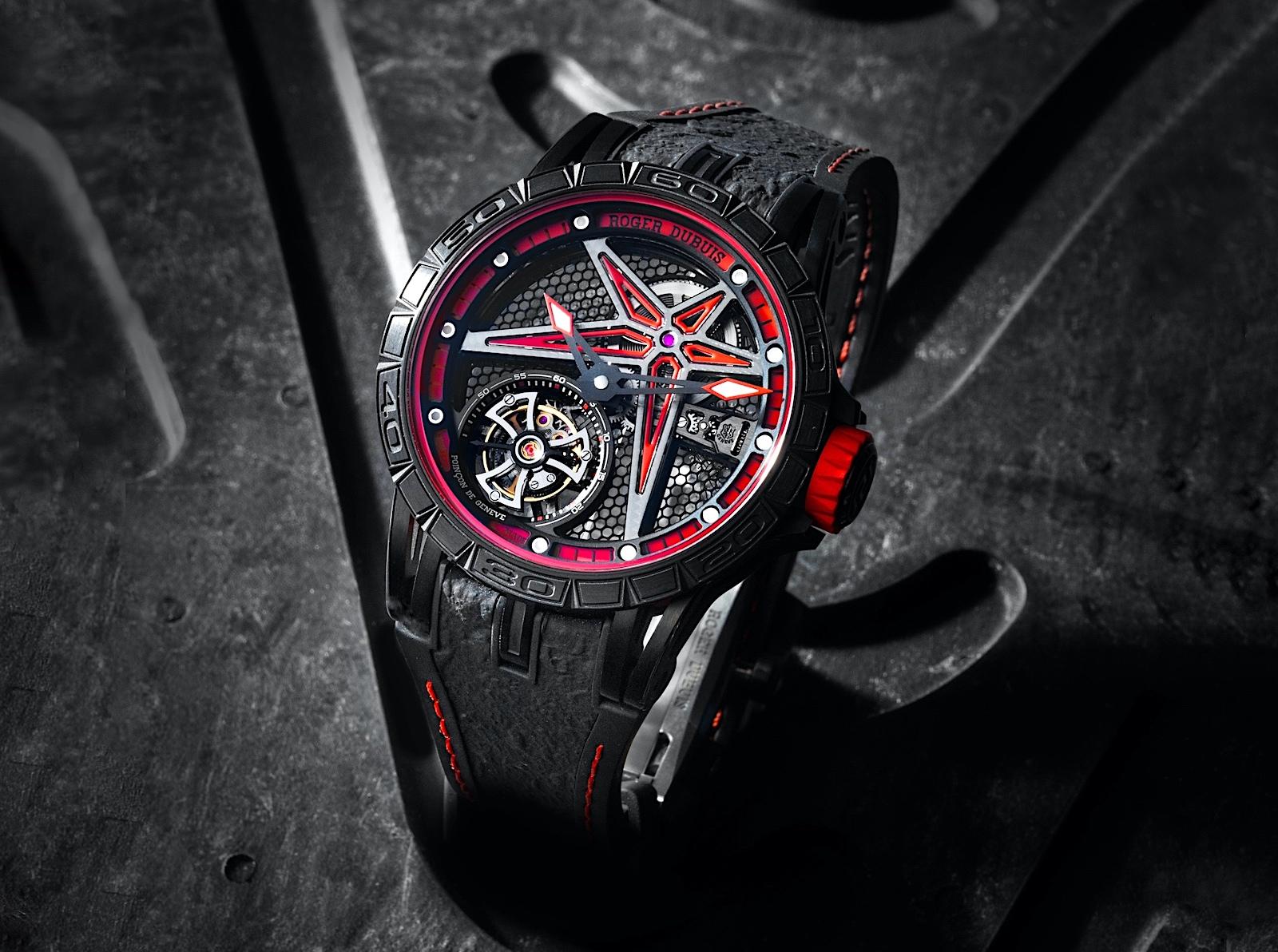 Roger Dubuis Excalibur Spider Flying Tourbillon 39 - Pirelli 02