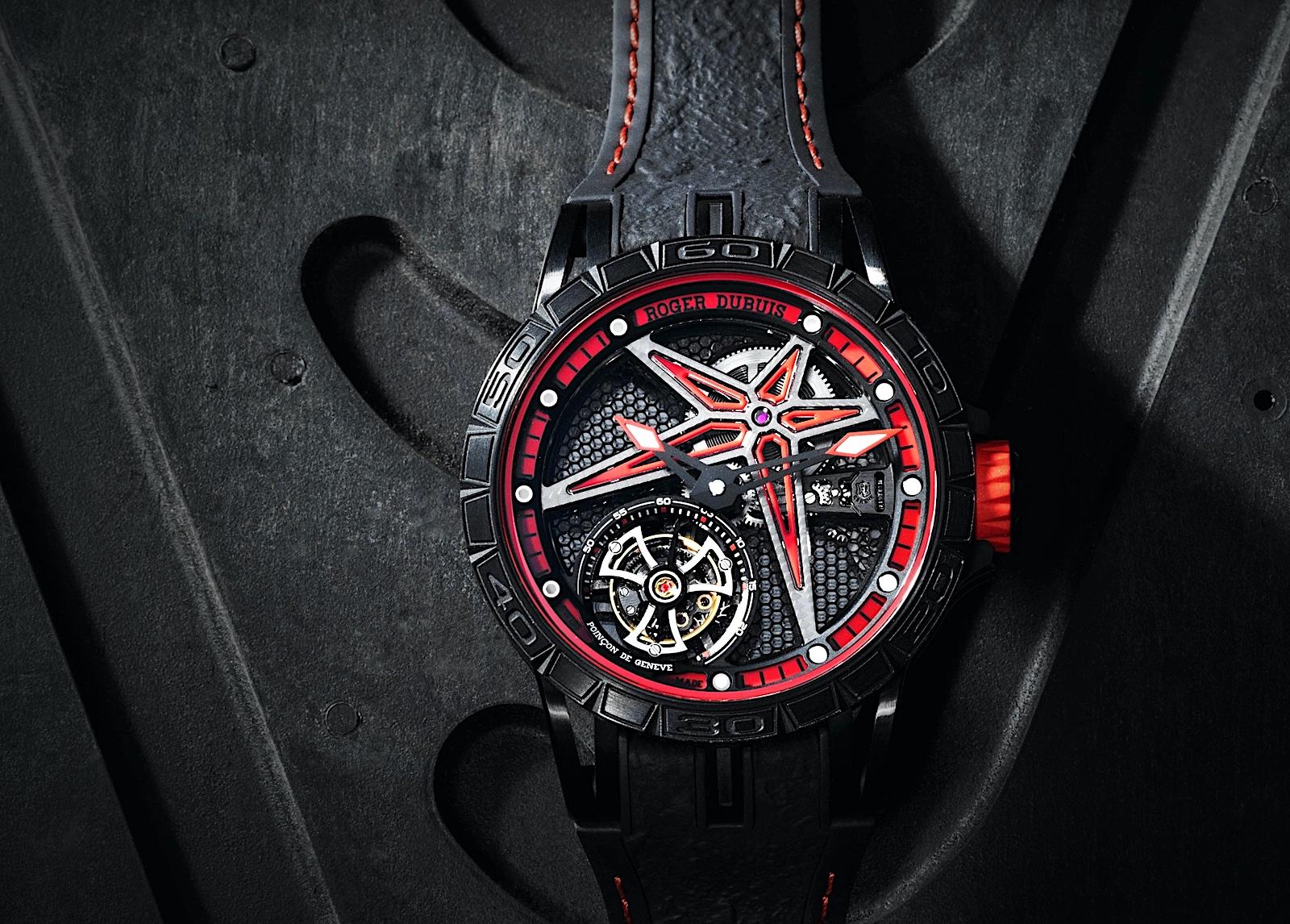 Roger Dubuis Excalibur Spider Flying Tourbillon 39 - Pirelli 03