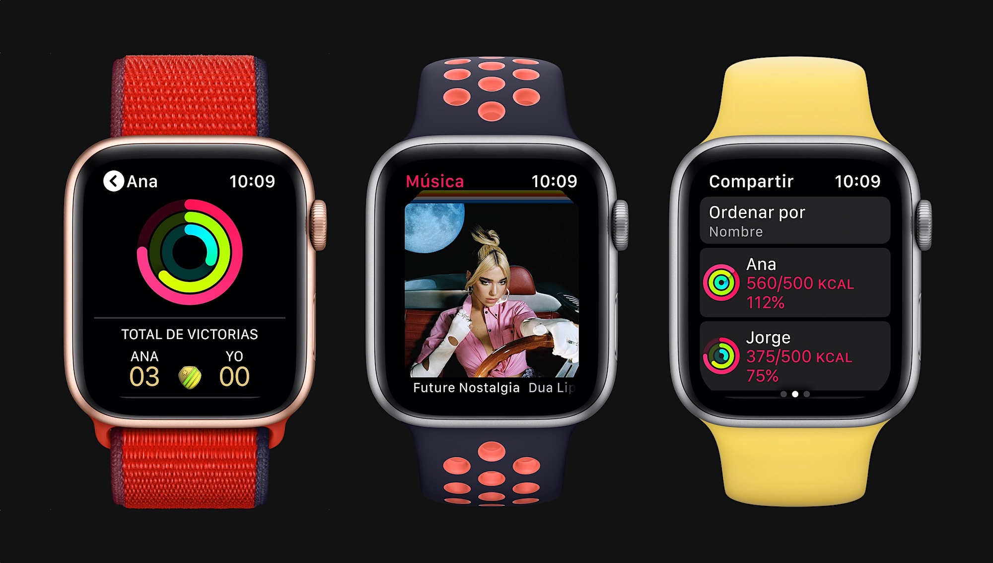 Apple Watch Series 6 - trio