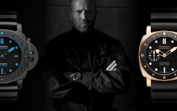 Panerai, con Jason Statham en «Five Eyes»