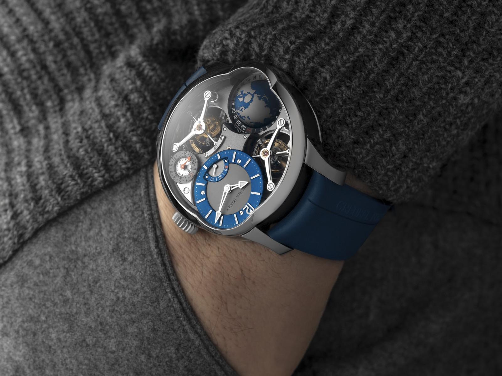 Greubel Forsey GMT Quadruple Tourbillon titanio