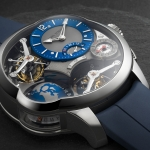 Greubel Forsey GMT Quadruple Tourbillon, en titanio