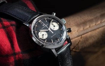 Hamilton American Classic Intra-Matic Chronograph H - black cover
