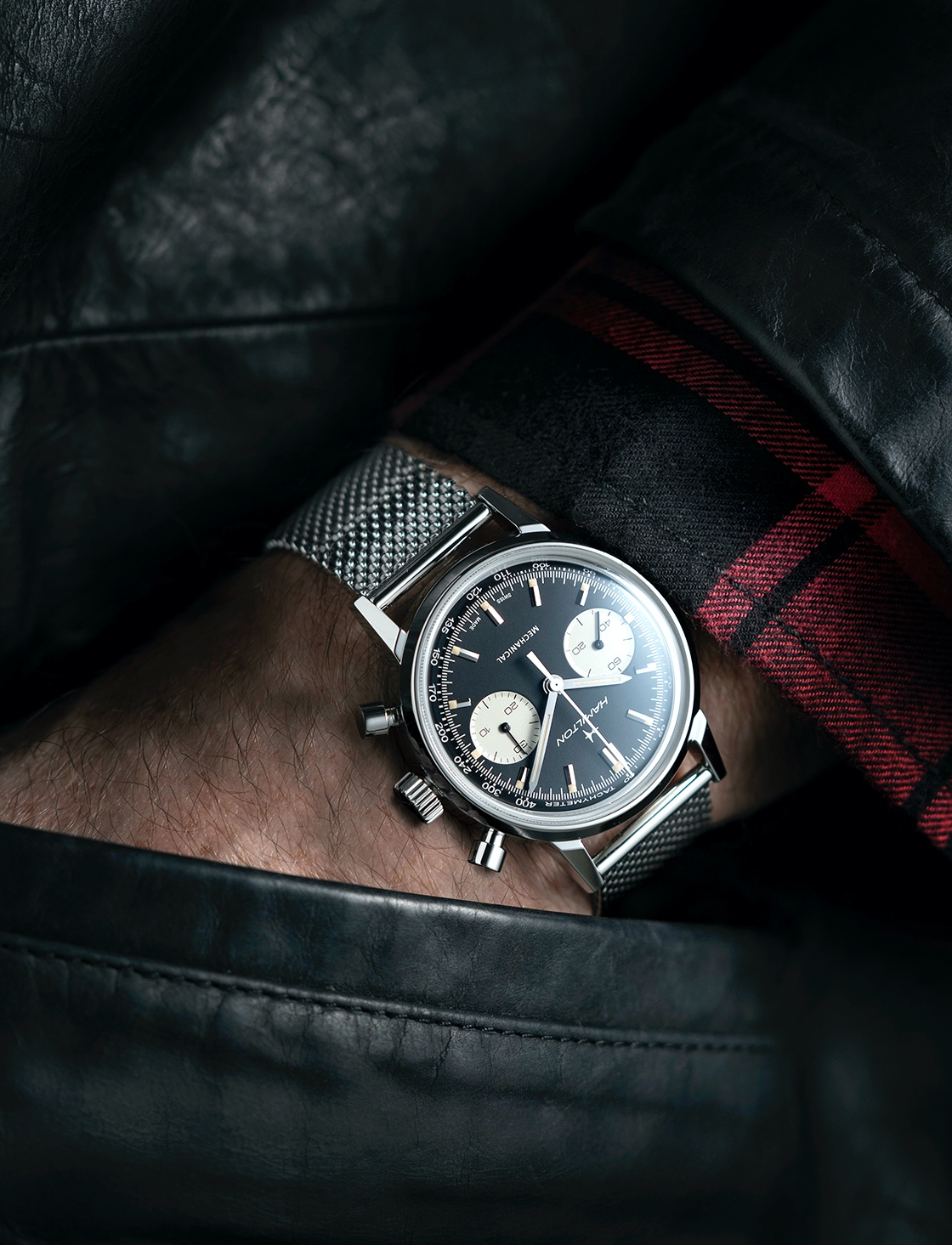 Hamilton American Classic Intra-Matic Chronograph H - lifestyle