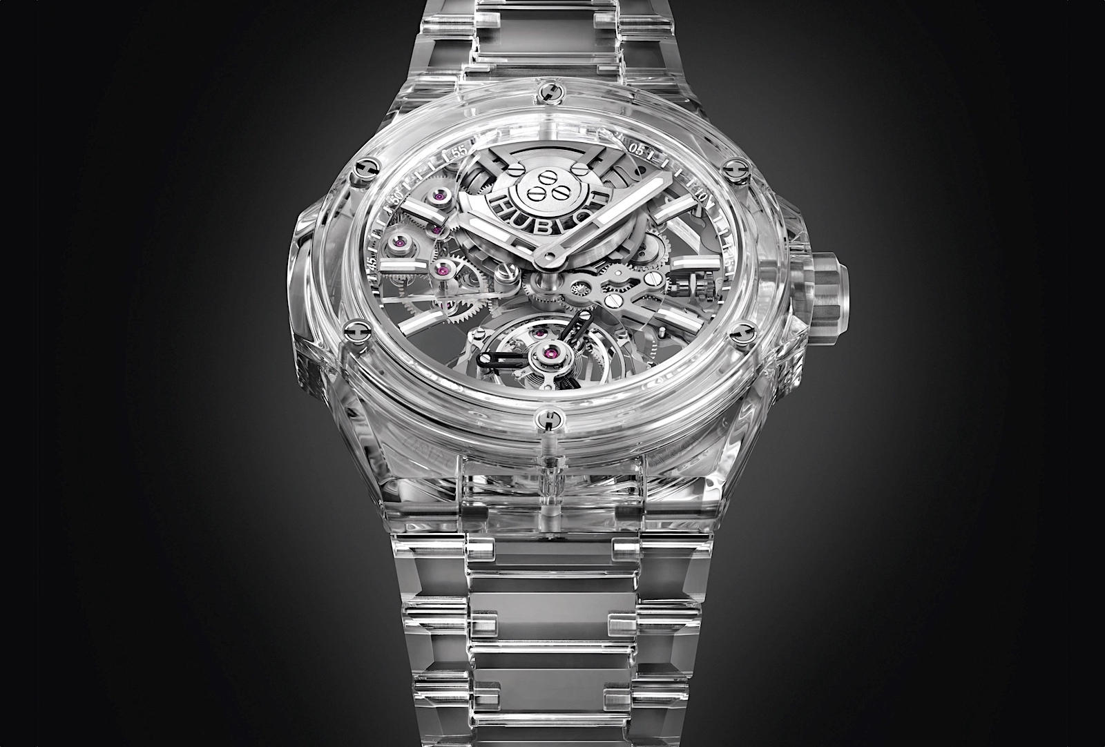 Hublot en Watches and Wonders 2021 - Big Bang Integral Tourbillon Full Sapphire