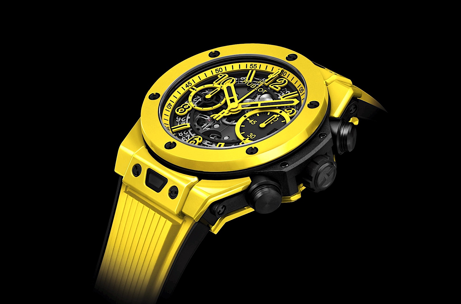 Big Bang Unico YellowCeramic 42mm