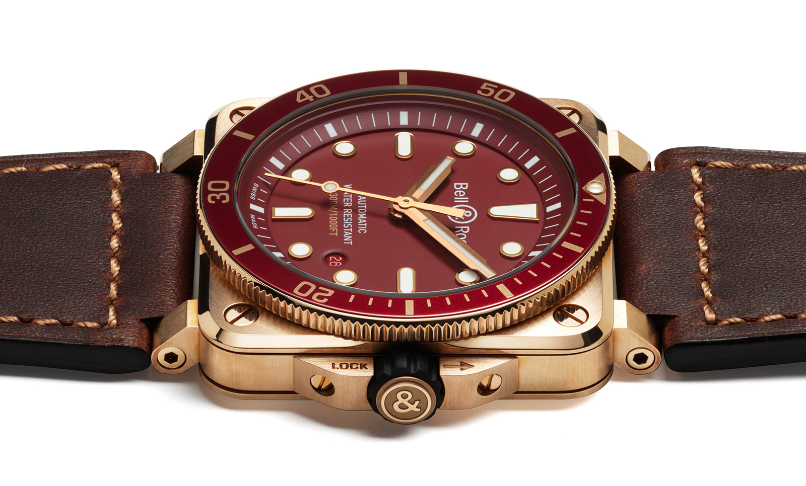 Bell & Ross BR 03-92 Diver Red Bronze lteral