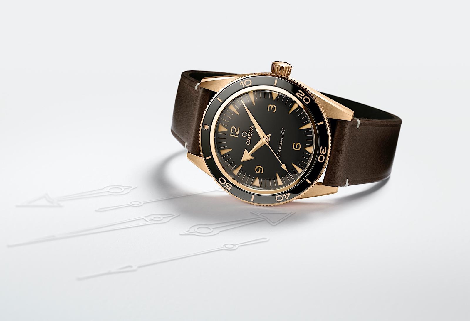 Las novedades 2021 de Omega - Seamaster 300 bronze gold