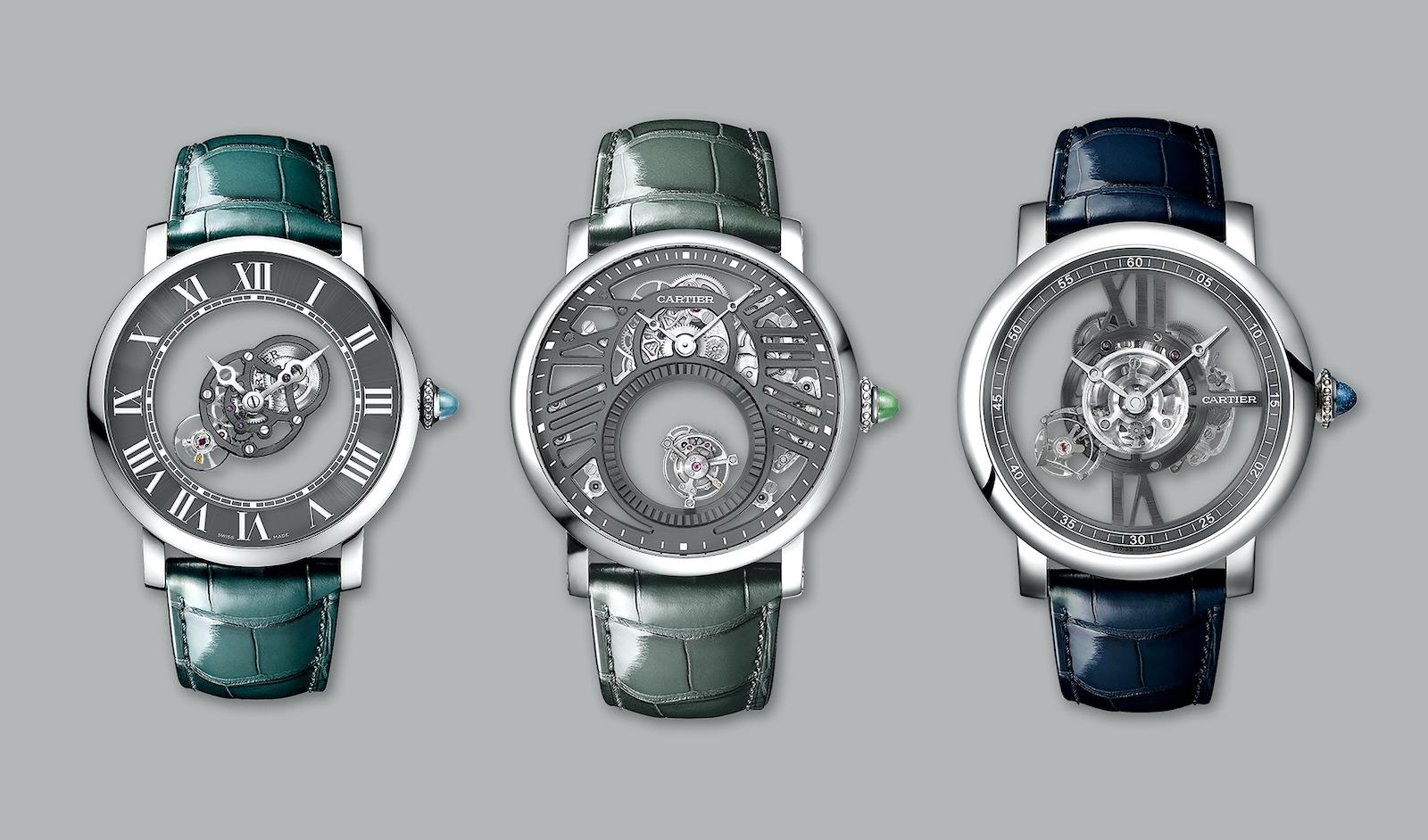 Rotonde De Cartier Set Icônes - trio grey