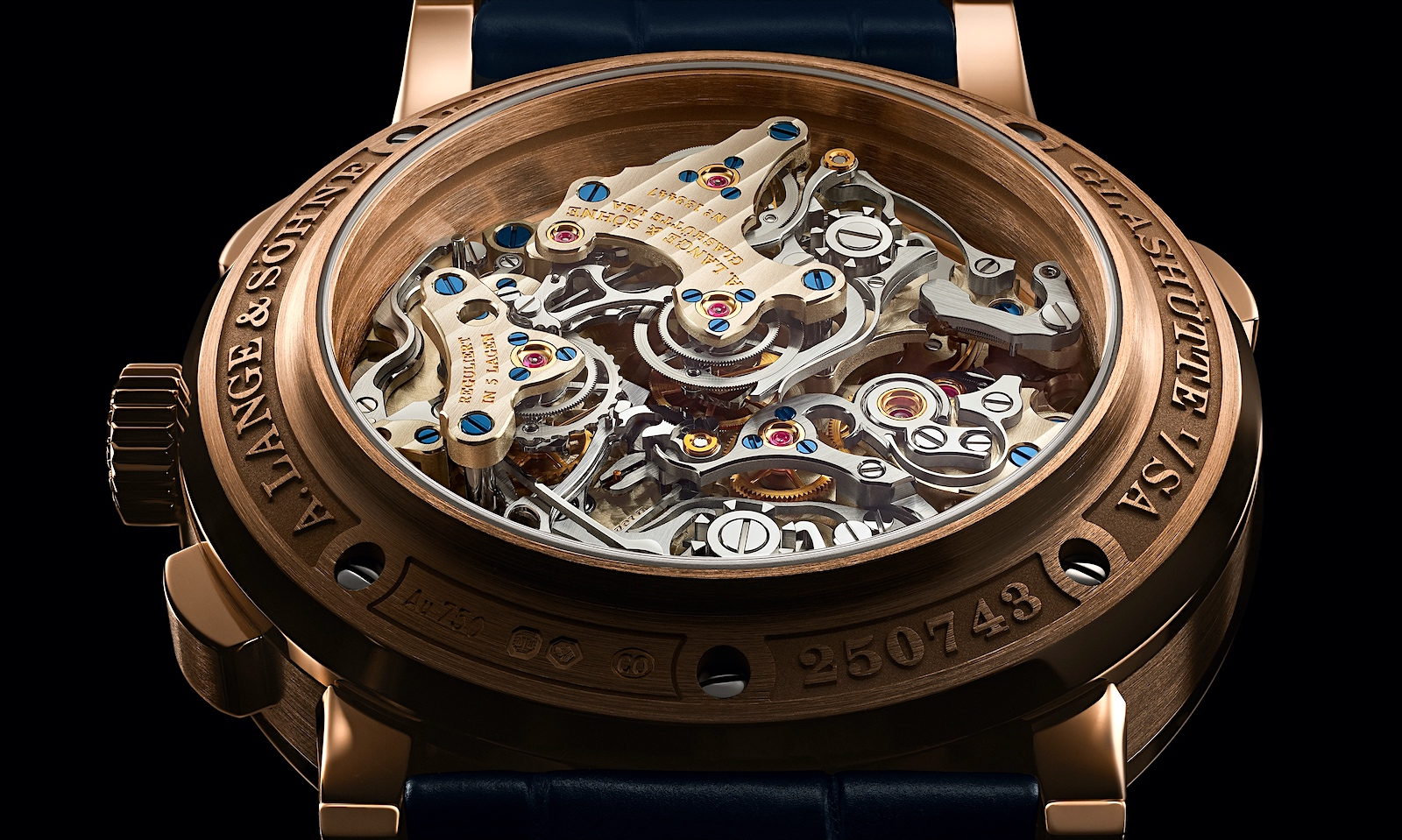 A. Lange & Söhne en Watches and Wonders 2021 - Triple Split calibre L132.1