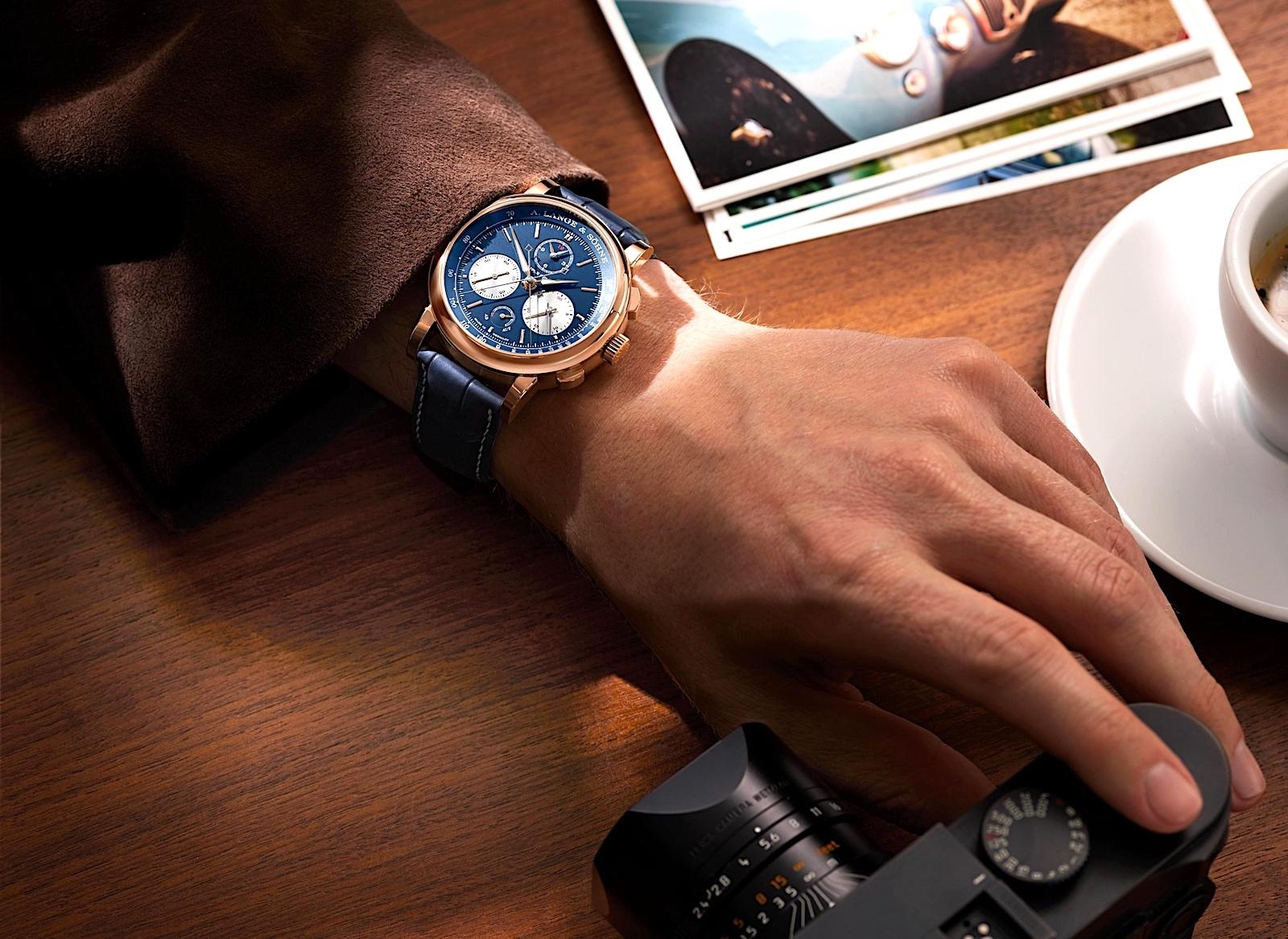 A. Lange & Söhne en Watches and Wonders 2021 - Triple Split lifestyle