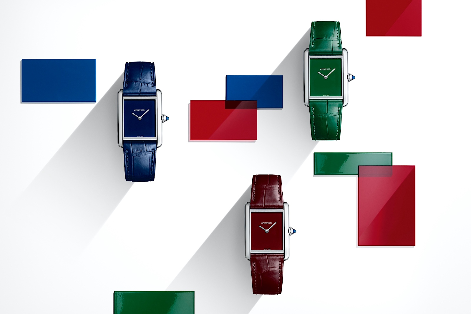 Cartier en Watches and Wonders 2021 - Tank Must Colors