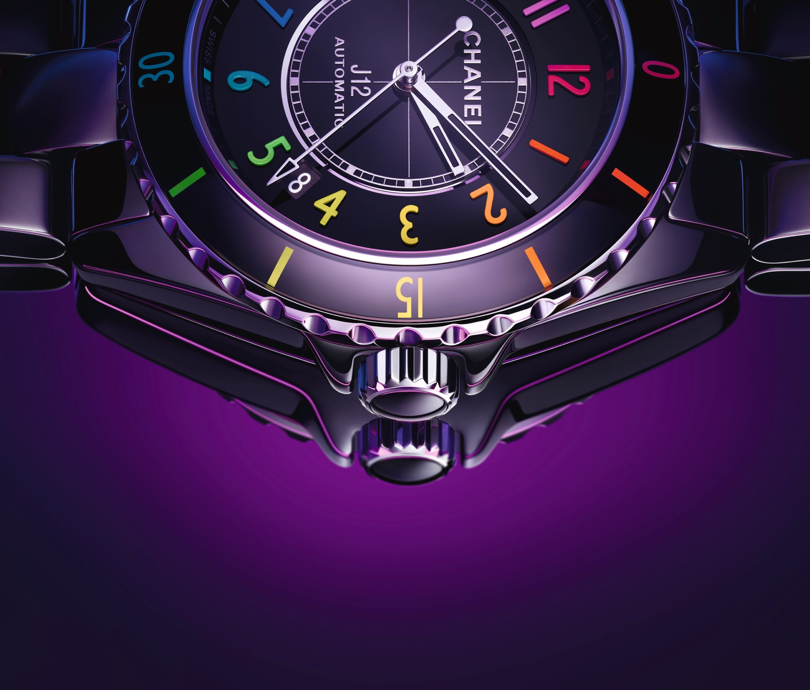 Chanel en Watches and Wonders 2021 - J12 Electro detalle