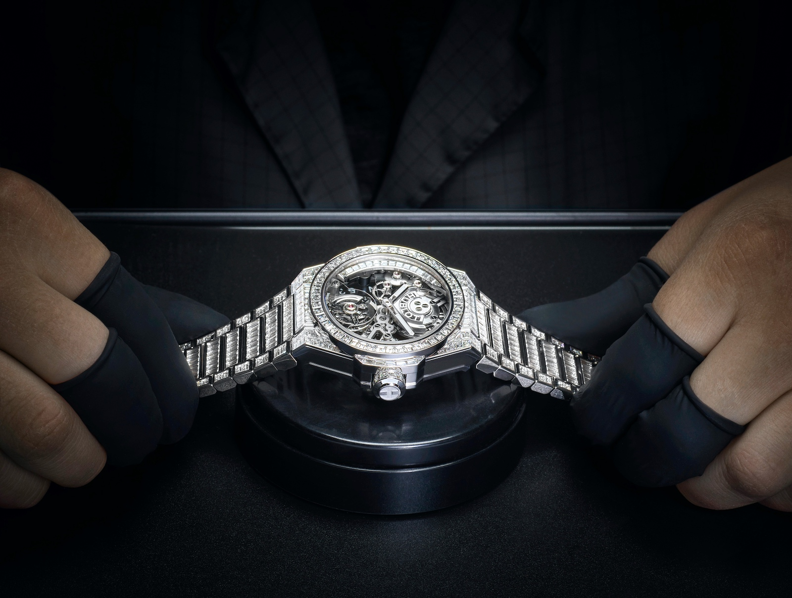 Hublot en Watches and Wonders 2021 - Big Bang Integral Tourbillon High Jewellery