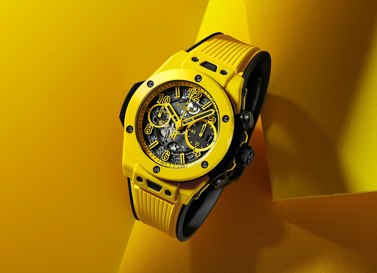 Hublot en Watches and Wonders 2021 - Big Bang Unico Yellow Ceramic, art 2