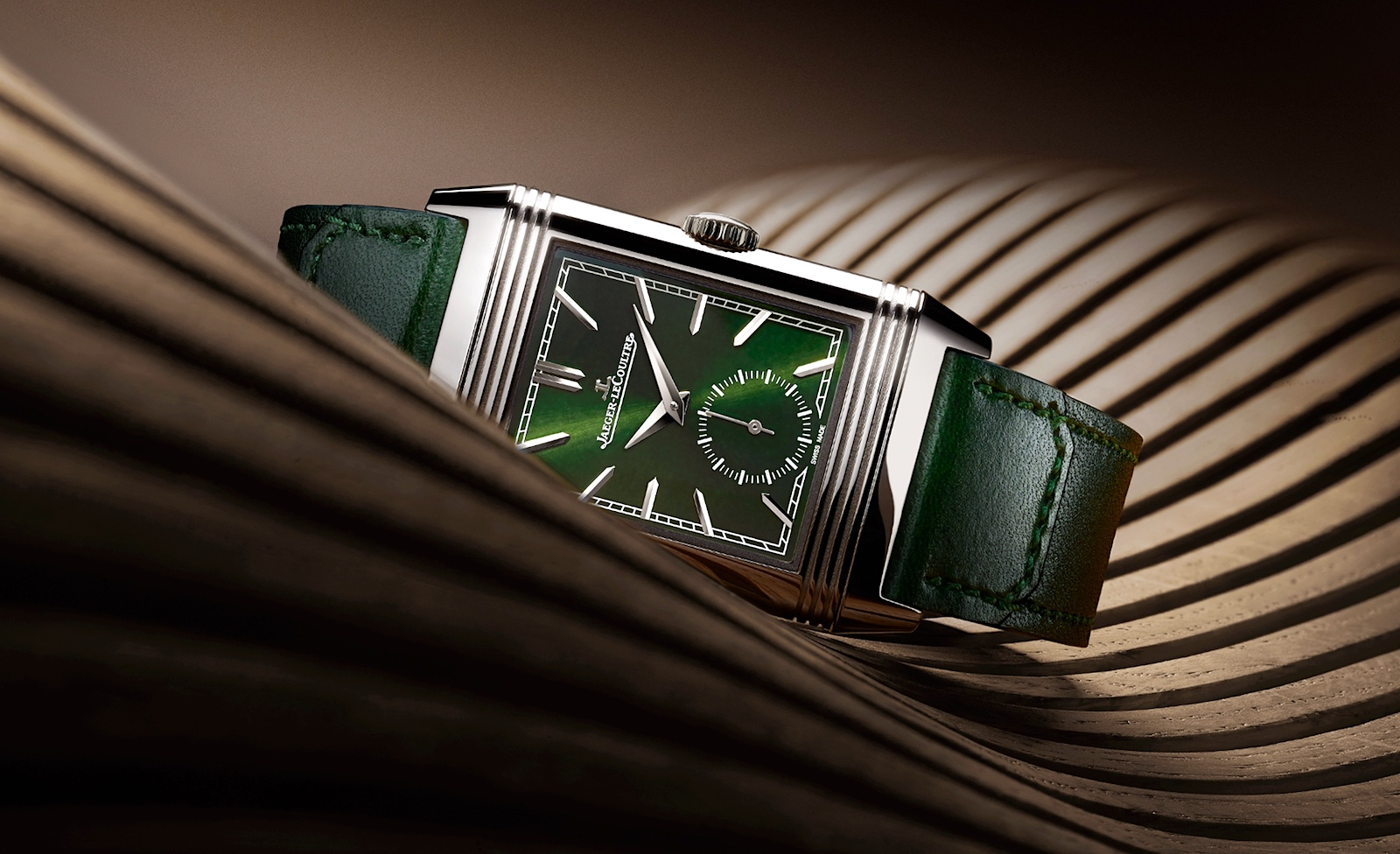 Jaeger-LeCoultre en Watches and Wonders 2021 - Reverso green