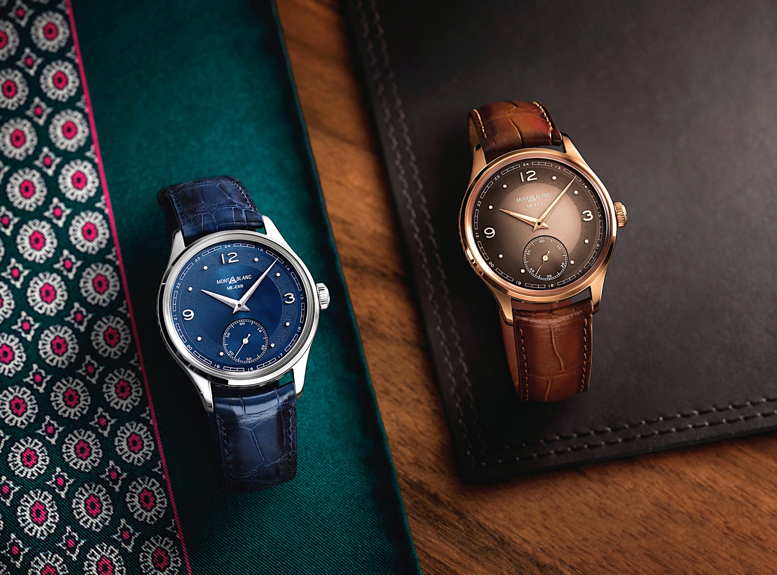 Montblanc en Watches and Wonders 2021 - Pythagore duo