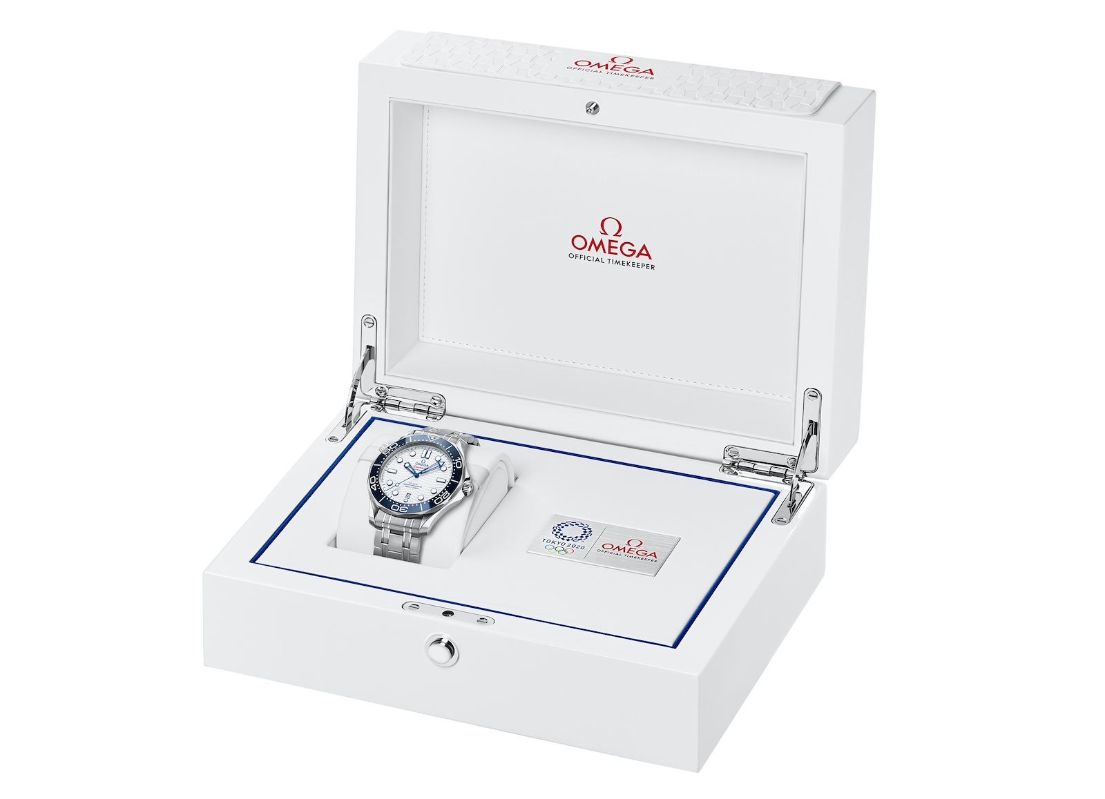 Omega Seamaster Diver 300M Tokyo 2020 - box