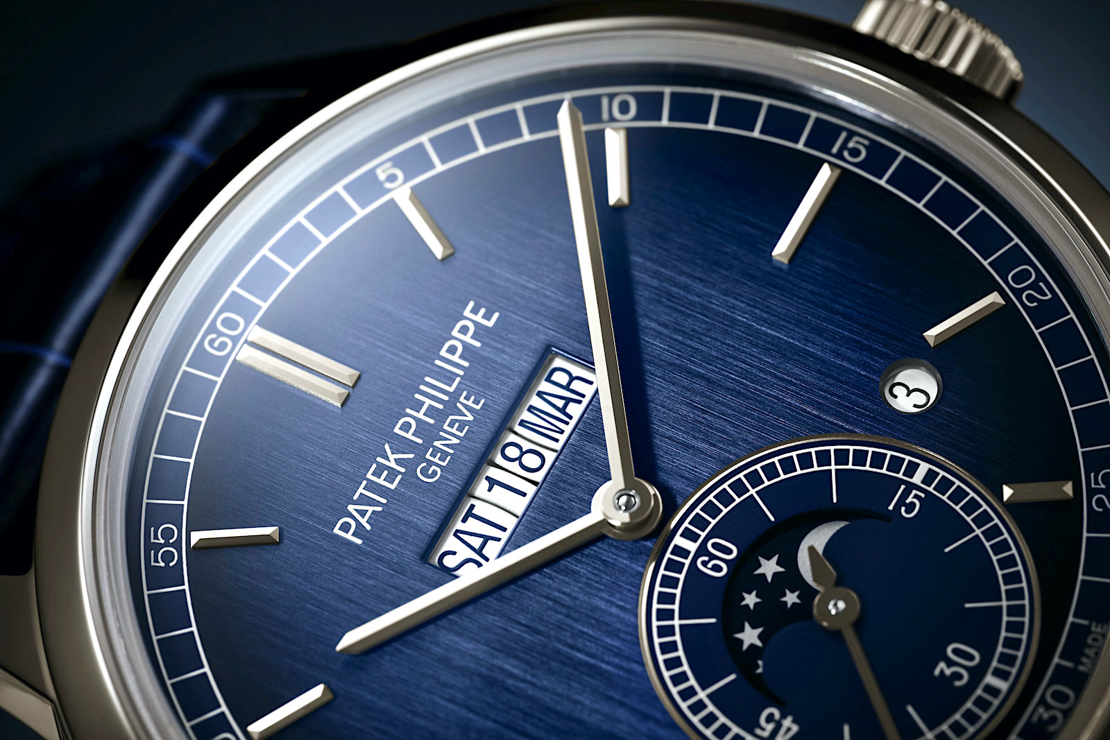 Patek Philippe 5236P In-Line Perpetual Calendar - dial finishing